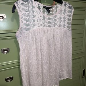 Lace Crochet Living Doll Top